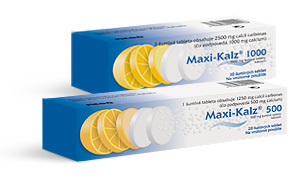 MAXI-KALZ 500 TBL EFF 20X500MG
