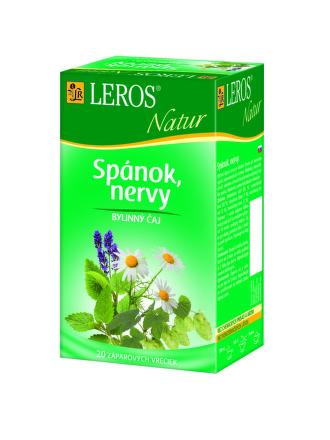 LEROS NATUR Spánok, nervy 20x1,3 g