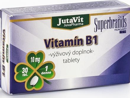 JutaVit Vitamín B1 tbl 1x30 ks