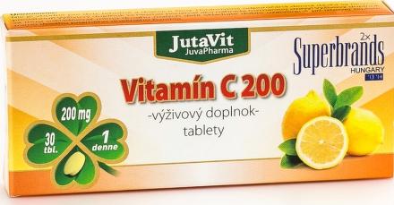 JUTAVIT VITAMÍN C 200MG 30TBL