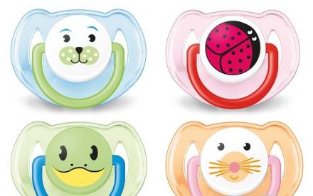 AVENT Cumlík Zvieratko 6-18 mesiacov bez BPA 2ks