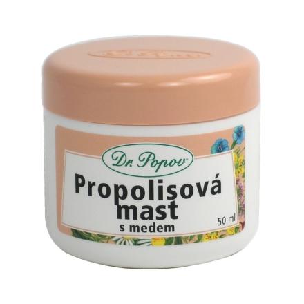 Dr. Popov Propolisová masť s medom 50ml