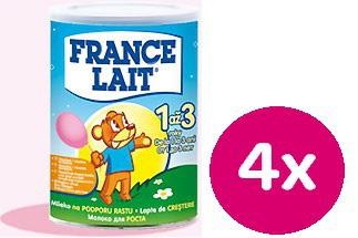 France Lait 3 4x400g + darček