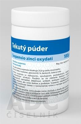 VULM SUSPENSIO ZINCI OXYDATI tekutý púder 1X100G