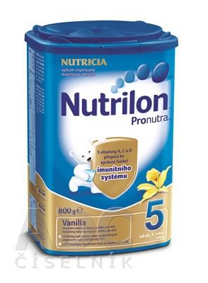NUTRILON 5 PRONUTRA VANILKA 800G