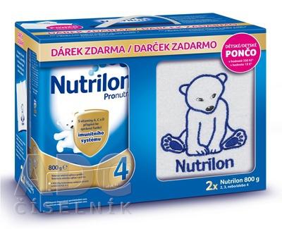 Nutricia a.s. NUTRILON 4 Pronutra 2x800g
