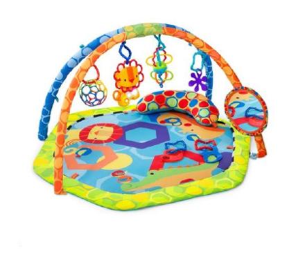 Bright Starts Deka podporujúca vývoj s hrazdou a hračkami Play-O-Lot Activity Gym™