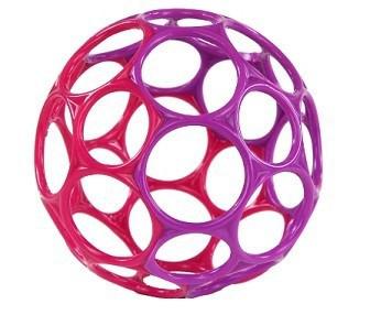 Bright Stars Hračka OBALL, 0m+ ružovo - fialová