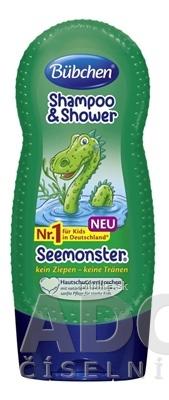 Bübchen Kids Shp+Gél Morská príšerka 230ml
