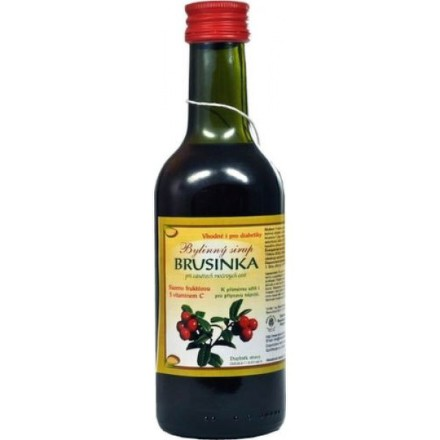 Sirup brusnicový 250ml