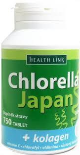 Chlorella Japan 750tbl + KOLAGÉN