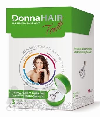 Simply You Pharmaceuticals Donna HAIR Forte 3-mesačná kúra 90cps+prívesok Swarovski 2015