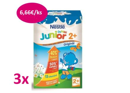 NESTLÉ Junior mléko 2+ 700g balenie 2+1ks
