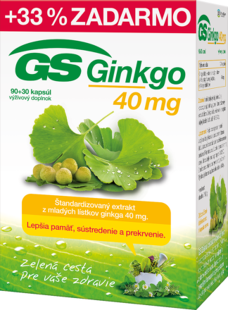 GS Ginkgo 90+30cps