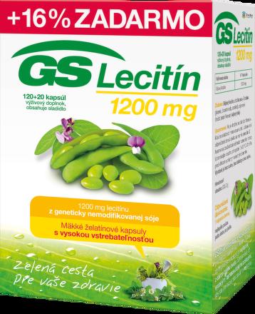 GS Lecitín 1200 120+20cps