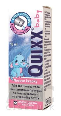 Quixx baby 0,9% kvapky 10ml