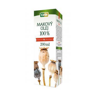 VIRDE Makový olej 100% 200ml