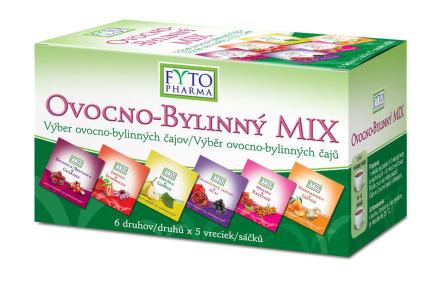 Ovocno-bylinný MIX čajov 30x2g Fytopharma