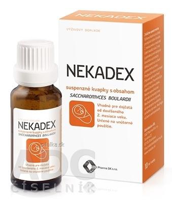 Nekadex kvapky 10ml