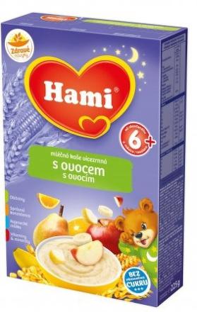 Hami kaša na dobrú noc ovocná mliečna 225g