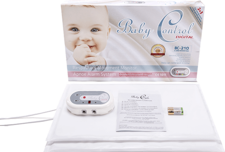 EASY4U Baby Control Digital BC-210 s 2 senzor.podložkami