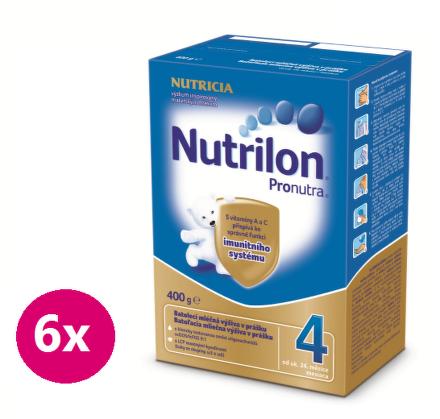 NUTRILON 4 PRONUTRA BIB 6x400G