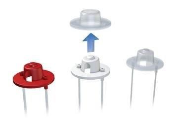MEDELA Set hadičiek SNS s ventilčekom
