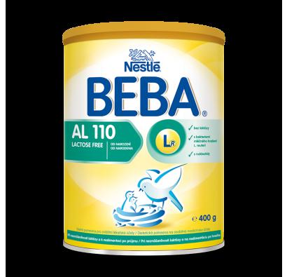 NESTLÉ BEBA AL 110 Lactose Free 400g