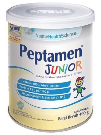 Nestlé peptamen Junior vanilka 400 g