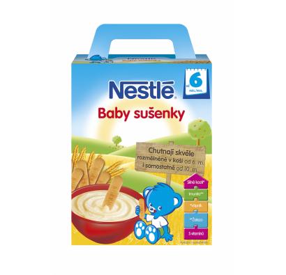 NESTLÉ Baby sušienky 2 x 90g