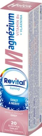 Revital Magnézium + Vitamín B6 grep 20 tbl eff
