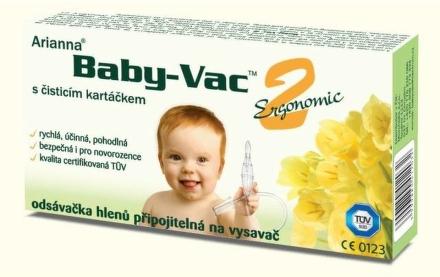 Odsávačka hlienov ARIANNA BABY-VAC2 INOV