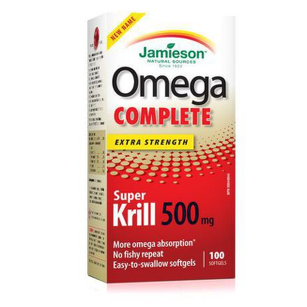 Jamieson Omega Krill Complete 500mg 60cps