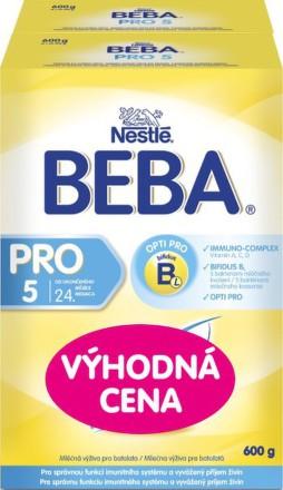 Nestlé NESTLÉ BEBA 5 Pro (2x600g)