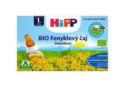 HIPP BIO Feniklový čaj 20x1.5g nálevové sáčky