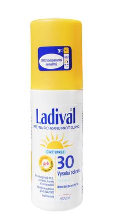 LADIVAL P+T Plus 30 LF (sprej na ochranu proti slnku 150 ml)
