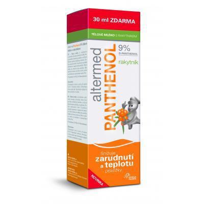 Altermed PANTHENOL 9% tel.mlieko s rakytníkom 230ml