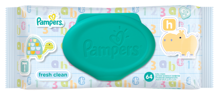 Pampers Baby Wipes Fresh náplň 64 ks