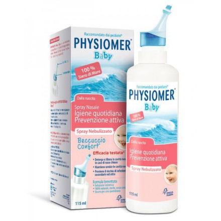 PHYSIOMER BABY NOS.SPREJ 0-3ROKY, 115 ml