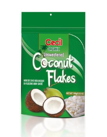 BIO Kokosové chipsy 100g