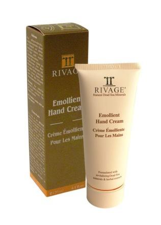 RIVAGE Upokojujúci krém na ruky Emollient Hand Cream 1x100 ml
