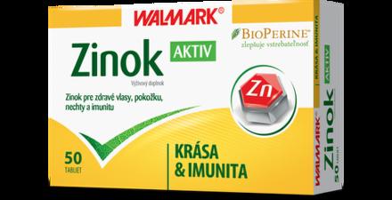 WALMARK Zinok Aktiv inov. 50 ks
