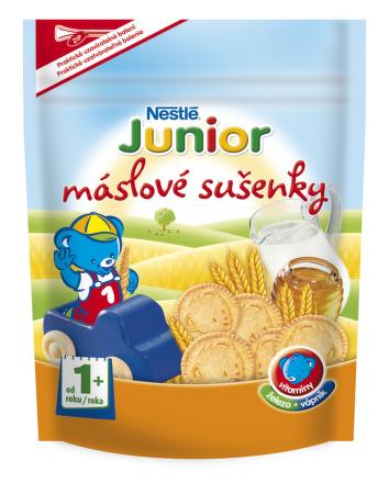 NESTLÉ JUNIOR Maslové sušienky 180g akcia 3+1 zdarma