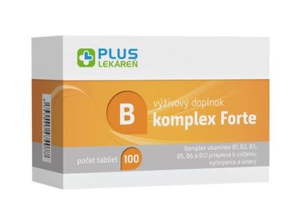 PLUS LEKÁREŇ B komplex Forte 100tbl