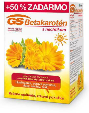 GS Betakarotén s nechtíkom 90+45cps zadarmo
