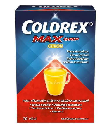 Coldrex Maxgrip Citron 10 vreciek