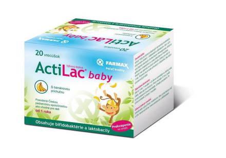 FARMAX ACTILAC BABY  20 VRECIEK