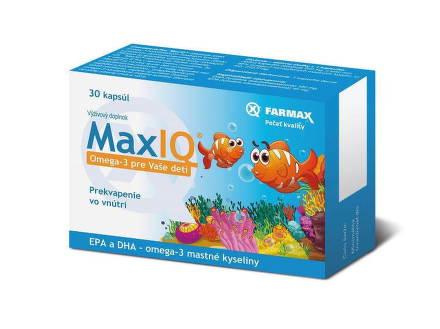 FARMAX MAX IQ OMEGA 3 PRE DETI 30CPS