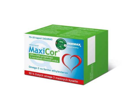 FARMAX MAXICOR 70CPS+20CPS ZDARMA