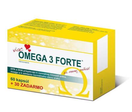 Omega 3 FORTE tob.60+30